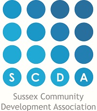 Sussex Community Development Association SCDA Logo