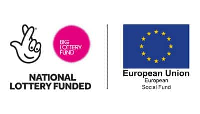 Lots More to Offer National Lottery Funded European Social Fund Logo